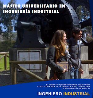 Master Universitario en Ingeniería Industrial
